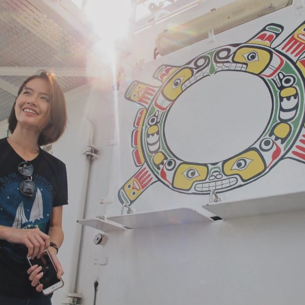 The Rainbow Warrior and The People of Greenpeace : South East Asia Tour