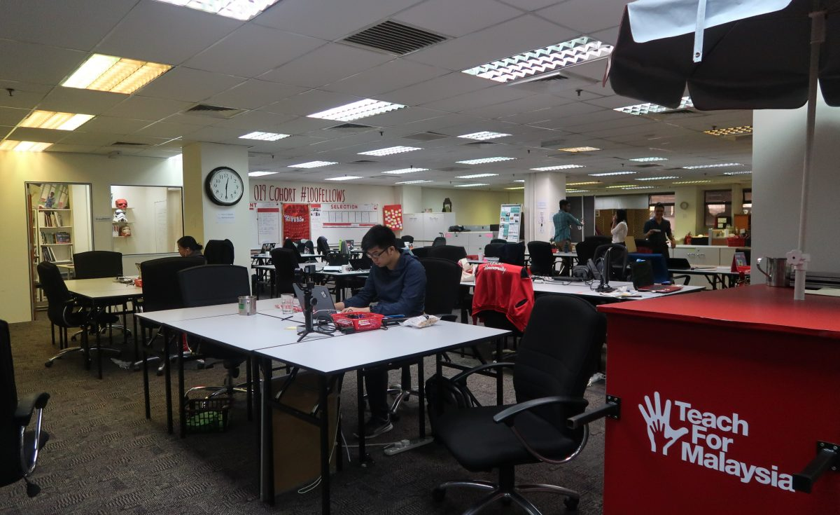 How Do You Get Your Office To Go Green? This is How 'Teach For Malaysia' Does It