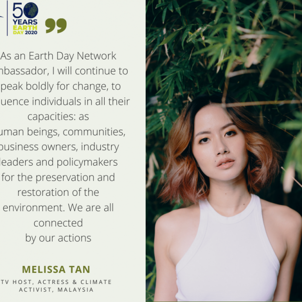 Melissa Tan, Ambassador for Malaysia to the Earth Day Network.